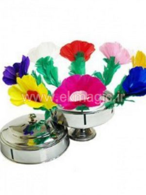 قابلمه گل SAUCEPAN FLOWER TRICKS